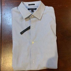 long sleeve banana republic grant fit dress shirt